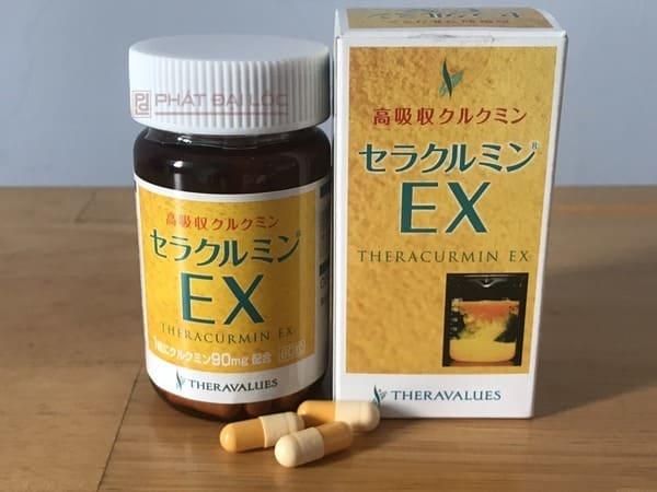 Tinh bột nghệ vàng nano Theracurmin EX Nhật Bản