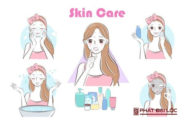 Thường xuyên chăm sóc da mặt bằng nước sạch cải thiện làn da khỏe