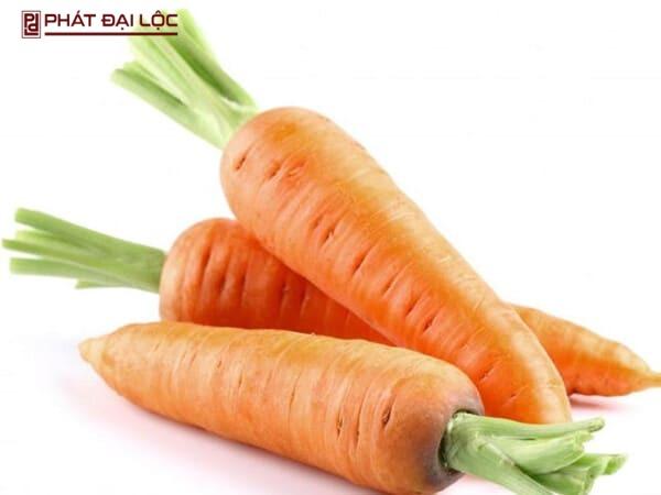 Có nhiều cách trị mụn khác nhau từ củ cà rốt