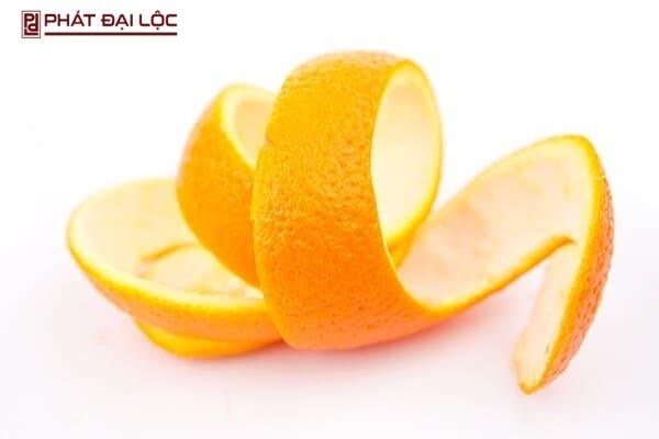 Có thể dùng vỏ cam để tạo ra hỗn hợp trị mụn ngay tại nhà