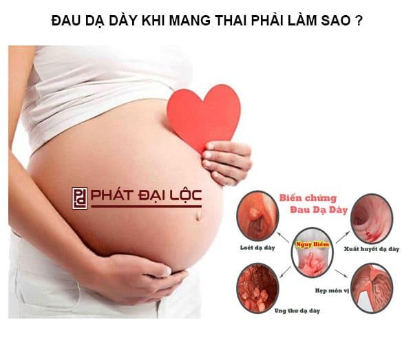 Đau dạ dày khi mang thai phải làm sao ? Nguyên nhân và giải pháp an toàn cho các mẹ bầu