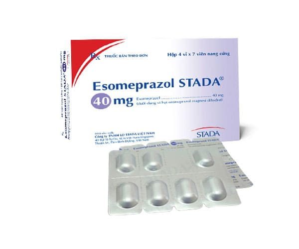 Thuốc đau dạ dày chữ E (Esomeprazol)