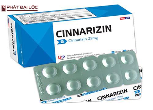 Thuốc giảm đau Cinnarizin