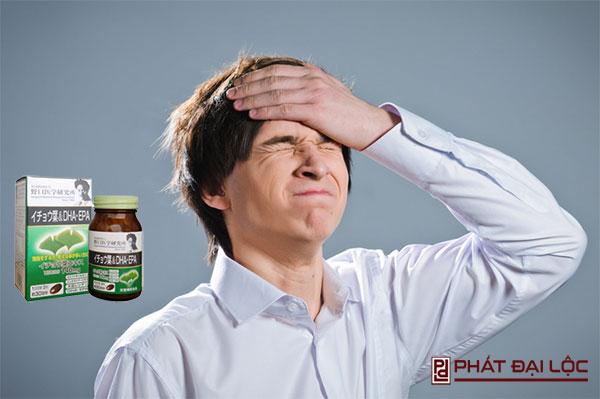 Người bị suy giảm trí nhớ, mất ngủ, căng thẳng kéo dài nên uống mỗi ngày 1 viên thuốc bổ não nhật