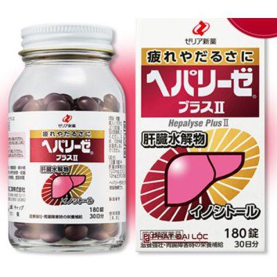 Thuốc bổ gan Hepalyseplus plus II Nhật Bản 180 viên