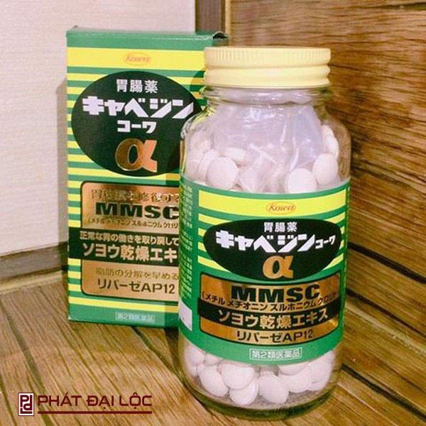 Thuốc trị trào ngược dạ dày của Nhật Bản Kyabeijin MMSC Kowa