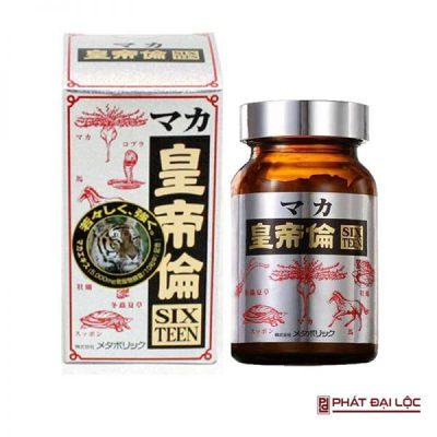 Viên uống tăng cường sinh lý Maka Sixteen Nhật Bản