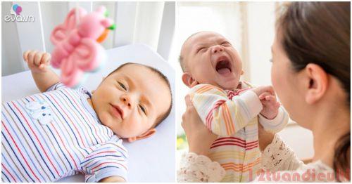 Trẻ sơ sinh bao lâu thì cứng cổ