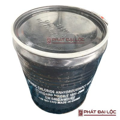 Phèn sắt III clorua FeCl3, Trung Quốc, 50 kg/thùng
